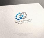 NJONESさんの新しいコンサルティング会社「ドットコネクト」のコーポレートロゴへの提案