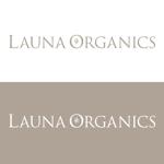 toshtaku614さんのオーガニック化粧品「LAUNA ORGANICS」のロゴ制作への提案