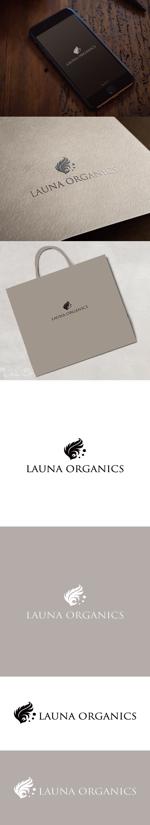 cozzyさんのオーガニック化粧品「LAUNA ORGANICS」のロゴ制作への提案