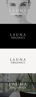 tanaka10さんのオーガニック化粧品「LAUNA ORGANICS」のロゴ制作への提案