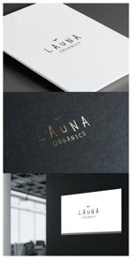 moguaiさんのオーガニック化粧品「LAUNA ORGANICS」のロゴ制作への提案