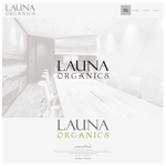 onesizefitsallさんのオーガニック化粧品「LAUNA ORGANICS」のロゴ制作への提案