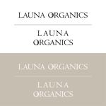 alphatoneさんのオーガニック化粧品「LAUNA ORGANICS」のロゴ制作への提案