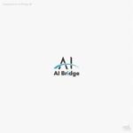 AI人材紹介サービス  「AI Bridge」のロゴ作成依頼への提案
