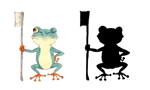 hakkaさんの 『カエル』の キャラクターデザイン  への提案
