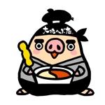 しゃぶしゃぶ・串揚げ食べ放題「大地のぶた」のキャラクターデザインへの提案