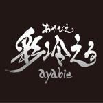 koseiさんのV系ロックバンド「彩冷える」のロゴへの提案