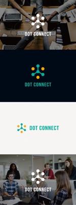tanaka10さんの新しいコンサルティング会社「ドットコネクト」のコーポレートロゴへの提案