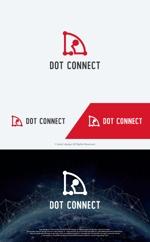 take5-designさんの新しいコンサルティング会社「ドットコネクト」のコーポレートロゴへの提案