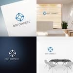 chapterzenさんの新しいコンサルティング会社「ドットコネクト」のコーポレートロゴへの提案