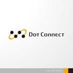 sa_akutsuさんの新しいコンサルティング会社「ドットコネクト」のコーポレートロゴへの提案