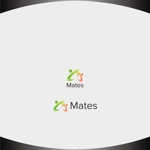 Nakamura__さんのWebプロモーション事業 「Mates」のロゴへの提案