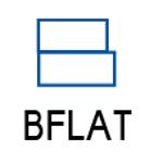 AkihikoMiyamotoさんのBFLATのロゴへの提案