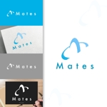 charisabseさんのWebプロモーション事業 「Mates」のロゴへの提案