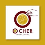 kuruppodesignさんの革命を起こす新ドリンク「O CHER」のロゴへの提案