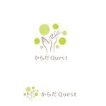 marutsukiさんの整体院「からだQuest 」のロゴへの提案