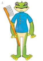 suzuki_okさんの 『カエル』の キャラクターデザイン  への提案