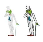abe_kosukeさんの 『カエル』の キャラクターデザイン  への提案
