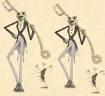 tamatsuneさんの 『カエル』の キャラクターデザイン  への提案