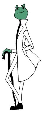 Achukoさんの 『カエル』の キャラクターデザイン  への提案