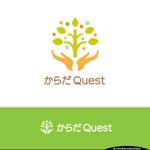 kotokiradesignさんの整体院「からだQuest 」のロゴへの提案