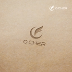 doremidesignさんの革命を起こす新ドリンク「O CHER」のロゴへの提案