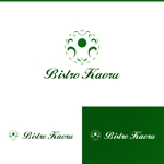 athenaabyzさんの新規飲食店(ビストロ)「BistroKaoru」のロゴへの提案