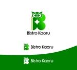 Suisuiさんの新規飲食店(ビストロ)「BistroKaoru」のロゴへの提案