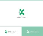 web-pro100さんの新規飲食店(ビストロ)「BistroKaoru」のロゴへの提案