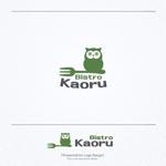conii88さんの新規飲食店(ビストロ)「BistroKaoru」のロゴへの提案