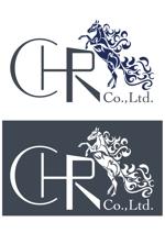 競走馬育成・調教・休養の会社<株式会社CHR>のロゴ作成をお願いしますへの提案