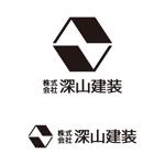 tsujimoさんの神奈川県の板金会社・深山建装のデザインロゴへの提案