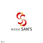 harujさんの「株式会社SAN'S」のロゴ作成への提案