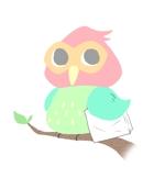 pony-cさんの新規ホームページのロゴ作成【ふくろうと紙袋】(商標登録予定なし)への提案