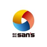 DOOZさんの「株式会社SAN'S」のロゴ作成への提案