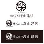 akkyakさんの神奈川県の板金会社・深山建装のデザインロゴへの提案