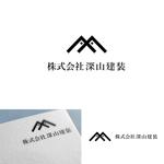 glpgs-lanceさんの神奈川県の板金会社・深山建装のデザインロゴへの提案