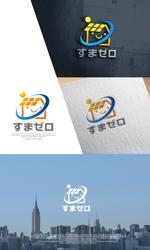 NJONESさんのハウスメーカー新ブランド「すまゼロ」ロゴデザインの募集への提案