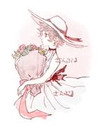 R_ssg_00さんの女子向けイラスト募集!【水彩の花・かわいい女の子・北欧風デザインなど】への提案