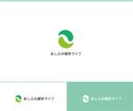 web-pro100さんの販売商品「あしふみ健幸ライフ」のロゴへの提案
