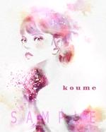 koume777さんの女子向けイラスト募集!【水彩の花・かわいい女の子・北欧風デザインなど】への提案