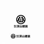 agnesさんの神奈川県の板金会社・深山建装のデザインロゴへの提案