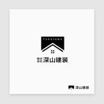 Morinohitoさんの神奈川県の板金会社・深山建装のデザインロゴへの提案