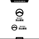 queuecatさんの神奈川県の板金会社・深山建装のデザインロゴへの提案