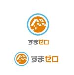 saki8さんのハウスメーカー新ブランド「すまゼロ」ロゴデザインの募集への提案