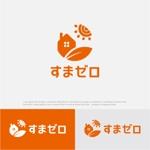 drkigawaさんのハウスメーカー新ブランド「すまゼロ」ロゴデザインの募集への提案