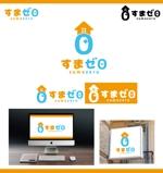 merody0603さんのハウスメーカー新ブランド「すまゼロ」ロゴデザインの募集への提案