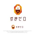 Handwerksmeisterさんのハウスメーカー新ブランド「すまゼロ」ロゴデザインの募集への提案