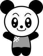 pink_pan_tea_meikoさんの20代~30代の女性に受け入れられるパンダのキャラクターのイラストへの提案