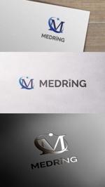zeross_designさんの次世代クリニックグループ「MEDRiNG」のロゴへの提案